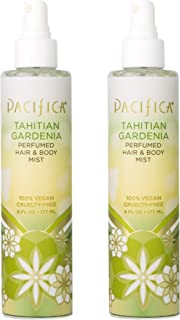 product image for Pacifica Perfumed Hair and Body Mist Tahitian Gardenia,6 Fl Oz,Pack of 2