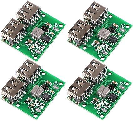 10PCS Type A USB Mâle vers DIP 2.54 mm Carte de circuit imprimé Board Power Supply Adaptateur Module