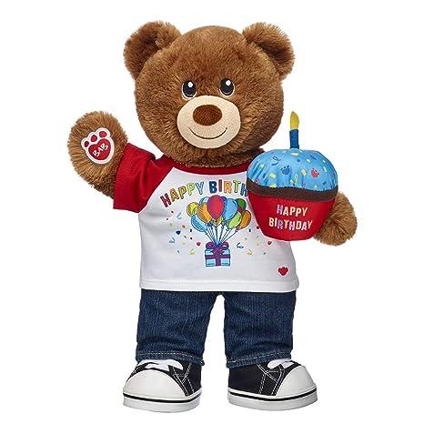 2e38930775f Amazon.com  Build A Bear Workshop Lil' Cub Hazelnut Teddy Bear ...