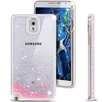 samsung note 3. galaxy note 3 case, nsstar [liquid bling] creative samsung n