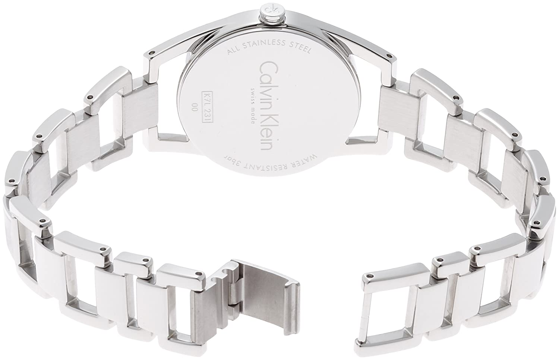136e81959d Amazon.com: Calvin Klein K7L23141 Dainty Silver Tone Women's Watch ...