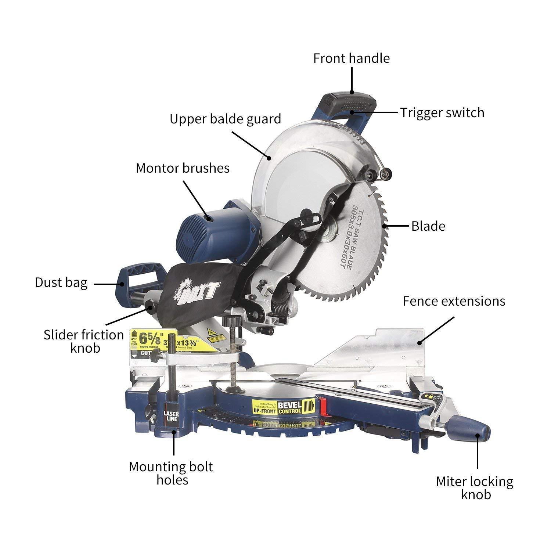 Ridgid 10 Sliding Compound Miter Saw Parts