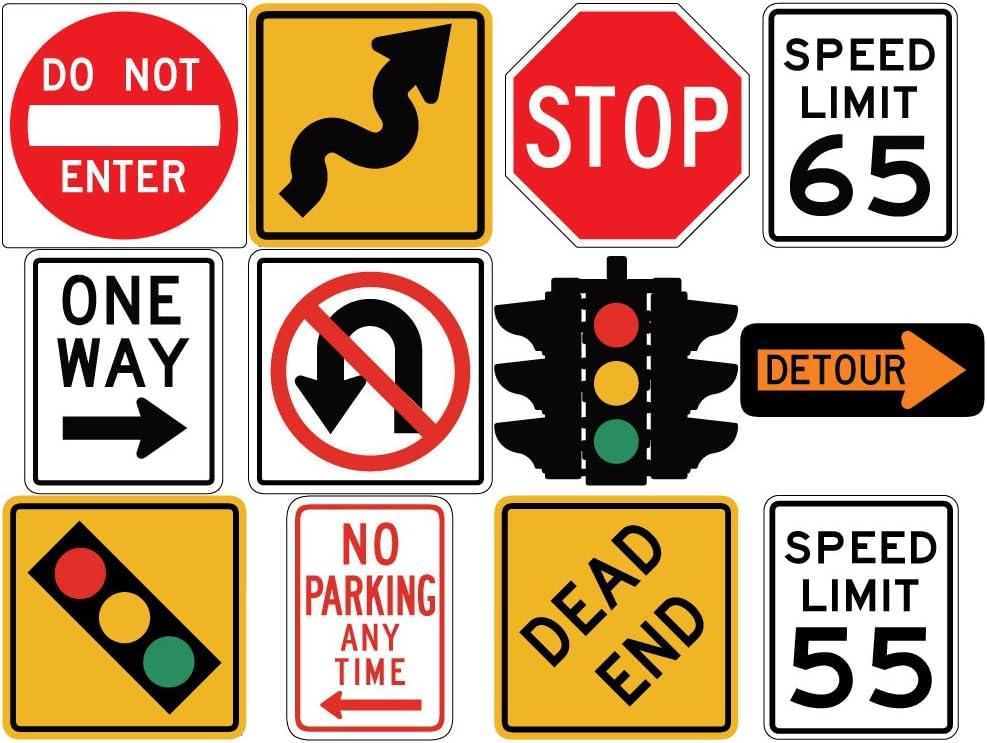 Stop Sign Vinyl Wall Art Decal Sticker Street Sign