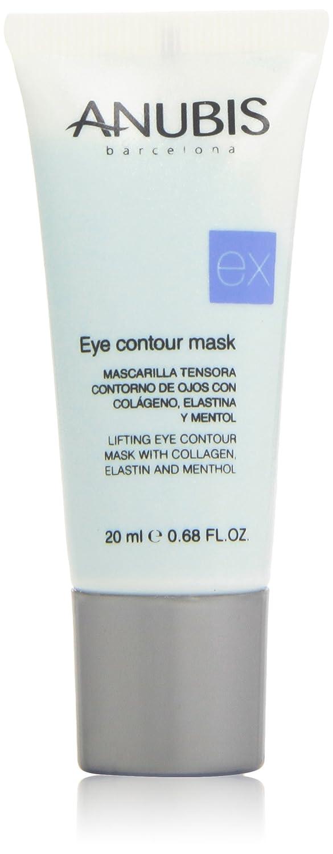 Anubis - Mascarilla tensora - Contorno de ojos con colágeno, elastina y mentol - 20 ml: Amazon.es: Belleza