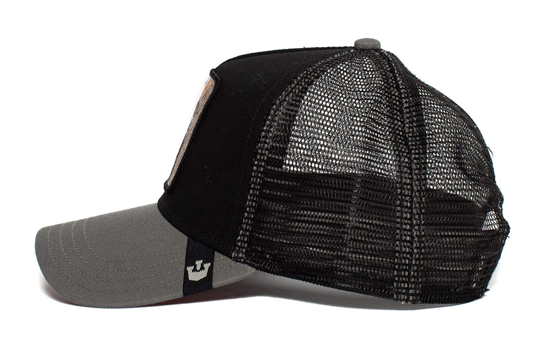 99ed641c84f Amazon.com  Goorin Bros. Mens  Woody Wood  Woodpecker Trucker Snapback  Baseball Hat  Clothing
