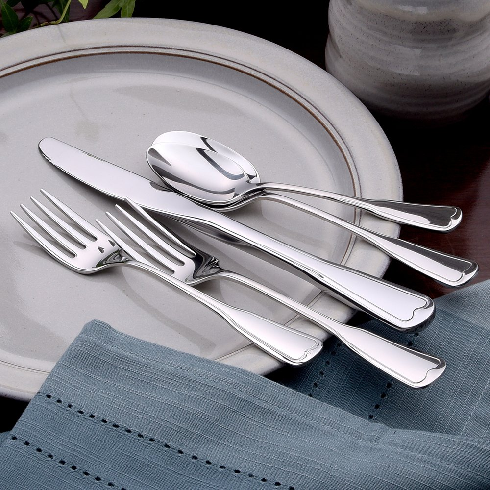 Liberty Tabletop Richmond 20 Piece Flatware Set service for 4 stainless steel 18/10 Made in USA by Liberty Tabletop (Image #7)