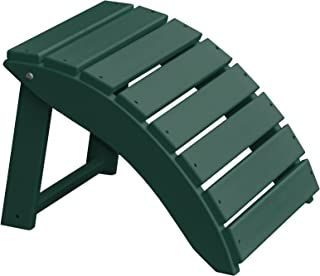 product image for Furniture Barn USA Poly Folding Round Ottoman Footrest - Turf Green