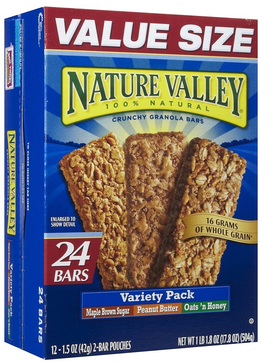 Nature Valley Crunchy Granola Bars, Variety Pack - 0 - 17.8 oz - 24 ct