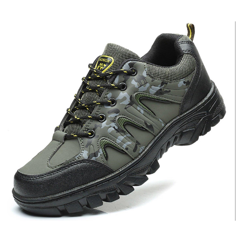 DANDANJIE Herren Bergschuhe Laufen Jagd Wanderschuhe Bergsteiger Schuhe Atmungsaktive Anti-Rutsch-Casual Sport Outdoor Turnschuhe