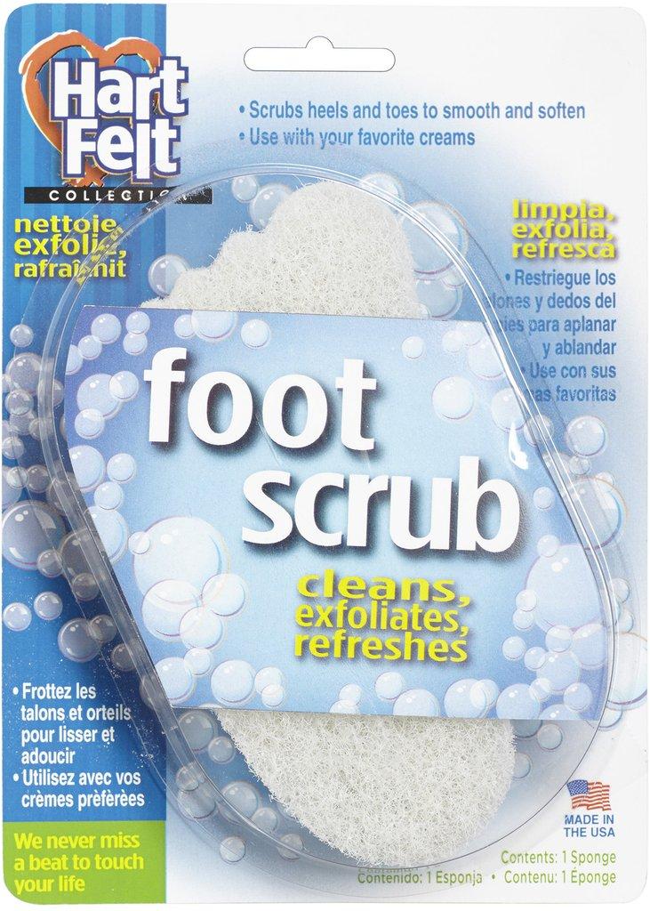 HartFelt Pedi Foot Scrub, 6 Count