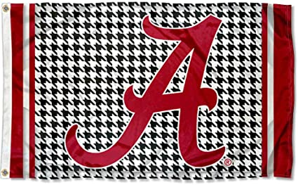 Alabama Crimson Tide Stars and Stripes Nation Flag