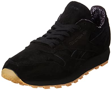 fff4593ce5930 Reebok Cl Leather TDC Casual Men s Shoes Size 4.5 Black
