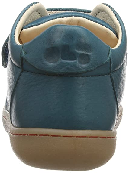 Pololo Primero caribbean 7-50-737 - Zapatos para bebé de cuero, color verde, talla 24
