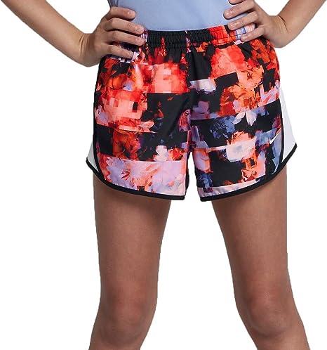 3deaa1dac51d3 Amazon.com : Nike Girls' Dry Tempo Printed Running Shorts : Sports ...