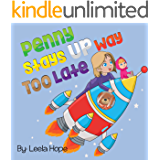 Childrens Book Sets: Penny Stays Up Way Too Late: bedtime stories for kids ages 2-6