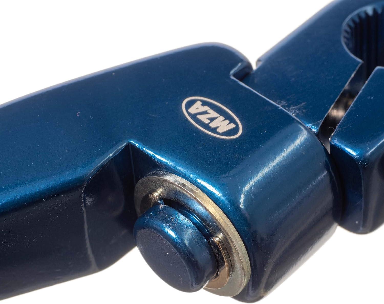 Enduro Sport Tuning Set Kickstarterhebel Fußschalthebel Klappbar Mit Haltekugel Feder Federspannung Einstellbar Farbe Blau Auto