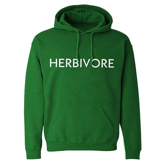 Hoodie Herbivore Vegan Adult Kelly Green Large