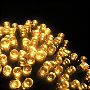 Solarleuchten LED Lampe Solar Lichterkette, ICOCO 200er LED Schnur Licht  Außenlichterketter, Wasserdicht Ambiance Starry