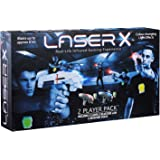 LaserX 2-Player Pack Real Life Infrared Laser Blasters (6+ Years)