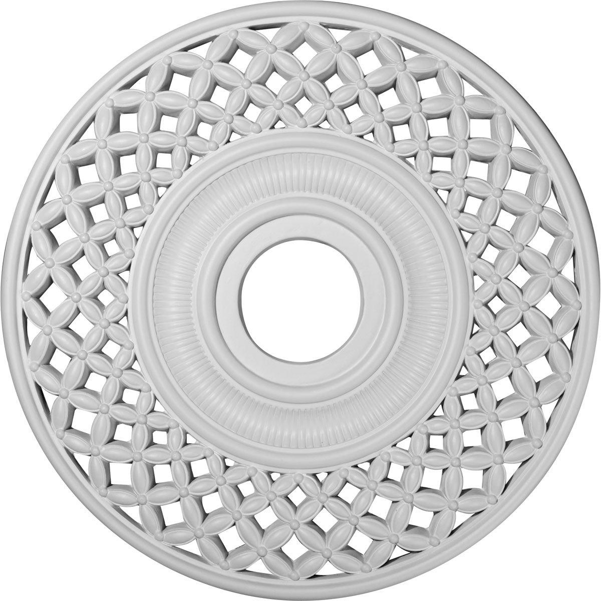 Ekena Millwork CM22RB 22 1/4-Inch OD x 4 3/4-Inch ID Robin Ceiling Medallion