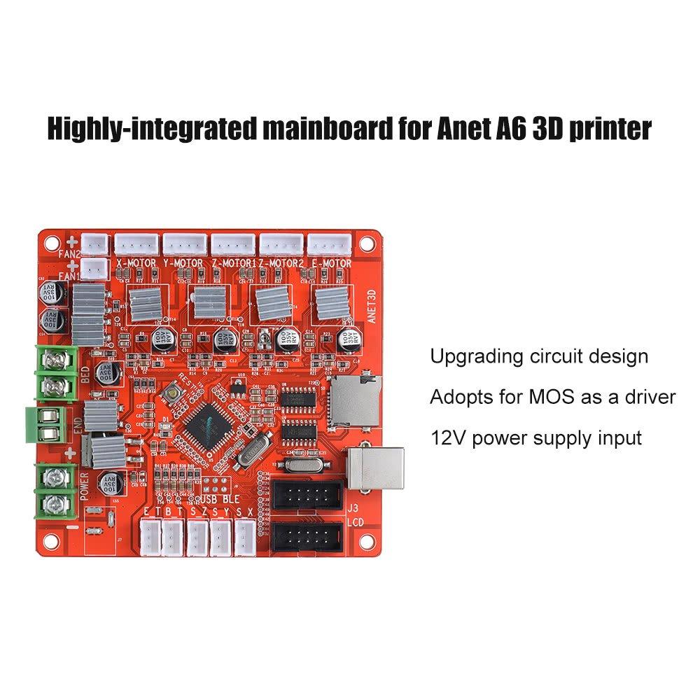 Placa base de control A1284-Base V1.7 Placa base para Anet A6 Plus ...