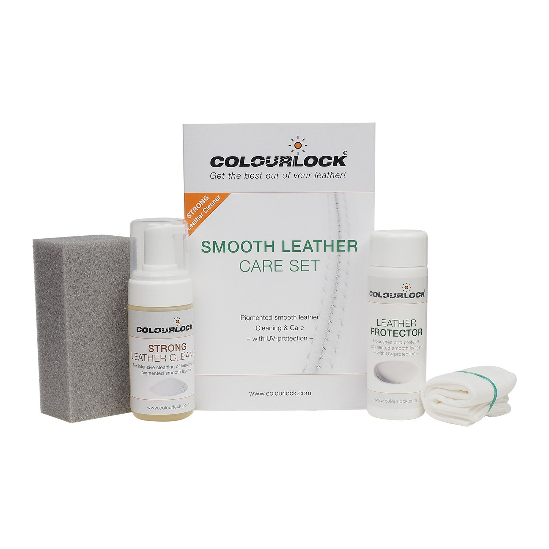 COLOURLOCK - Kit per la pulizia e la cura della pelle, per uso su parti interne di auto, mobili in pelle, divani, sofà , giacche, borse e altri articoli in pelle, protegge dall'usura protegge dall' usura Lederzentrum Gmbh