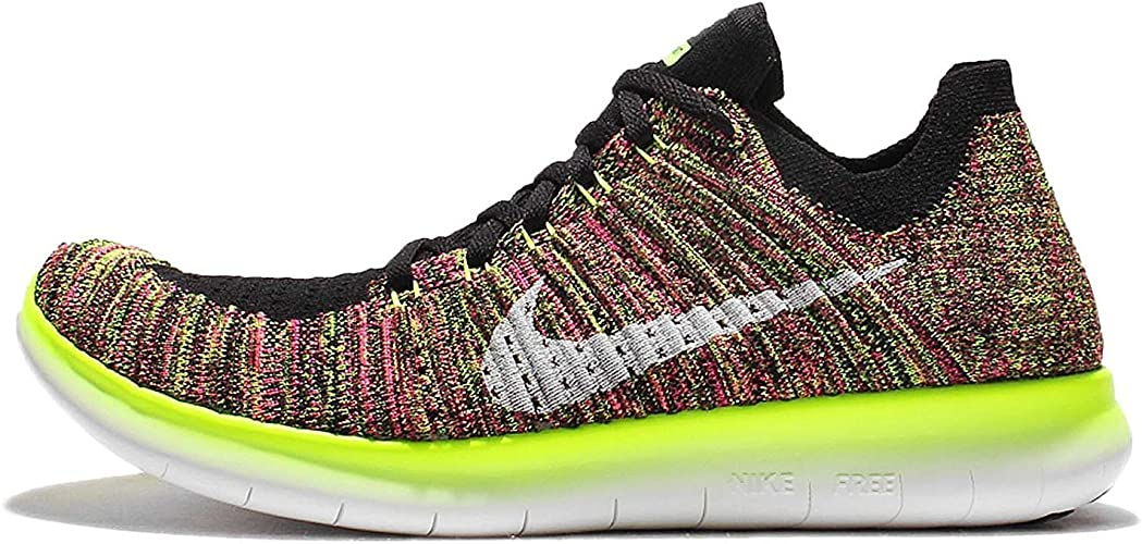 Nike Wmns Free RN Flyknit OC, Zapatillas de Running para Mujer, Negro (Negro (Multi-Color/Multi-Color), 43 EU: Amazon.es: Zapatos y complementos