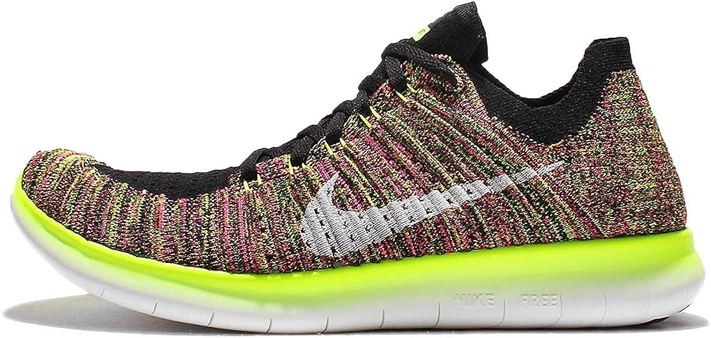 Nike Wmns Free RN Flyknit OC, Zapatillas de Running para Mujer, Negro (Negro (Multi-Color/Multi-Color), 43 EU: Amazon.es: Zapatos y complementos