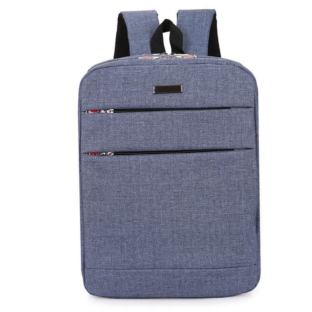 bluee DYR Computer Bag Student Bag Outdoor Travel Bag Men and Women Casual Shoulder Bag Handbag Chest Bag 15 Inch