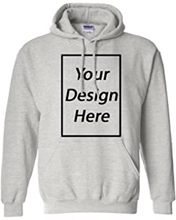 Amazon.com  Design Your OWN Hoodie - Cool Custom Graphic Sweaters ... a961d21c3017