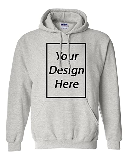 21659c43f2431 Add Your Own Text and Design Custom Personalized Sweatshirt Hoodie