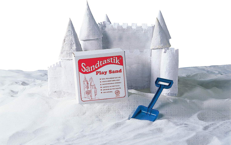 Sandtastic Sparkling White Play Sand, 25 lbs