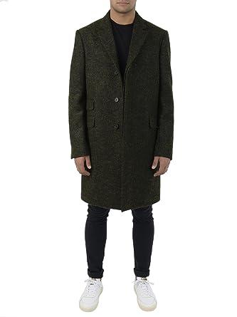 Mantel wolle grun