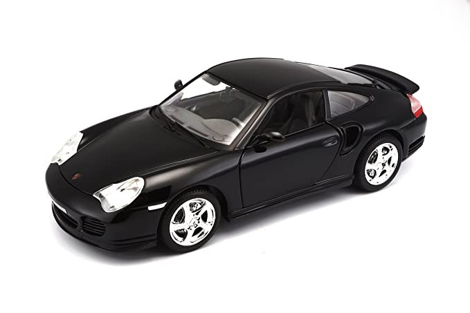Amazon Com Bburago Porsche 911 Turbo 1 18 Scale Toys Games