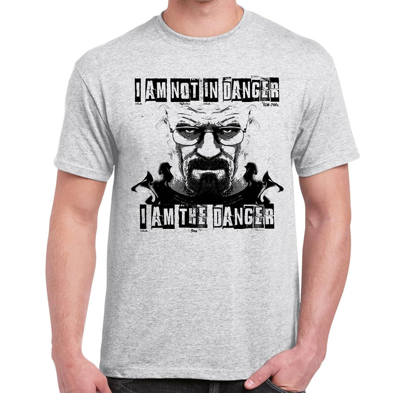I AM THE ONE WHO KNOCKS DAMEN T-SHIRT Breaking Heisenberg White Walter Bad