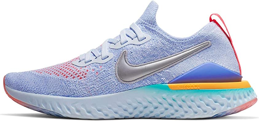 undefeated x discount sale best supplier Amazon.com | Nike Girls' Big Kids Epic React Flyknit 2 Running ...