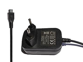 CheTech Cargador 5V 2.5A 2500mA Micro USB Fuente de ...