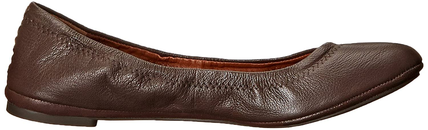 Lucky Tobacco/Fabric, Damens's Emmie Ballet Flat, Tobacco/Fabric, Lucky 9 M US 18832c