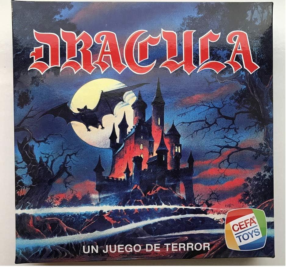 Cefa Toys- Dracula Juego de Mesa, Color Azul (21816): Amazon.es ...