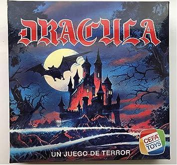 Cefa Toys- Dracula Juego de Mesa, Color Azul (21816): Amazon.es: Juguetes y juegos
