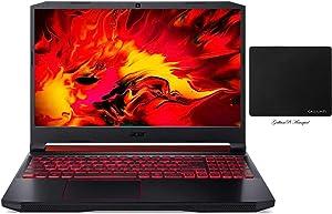 """Newest Acer Nitro 5 15.6"""" FHD Gaming Laptop, 9th Gen Intel Quad-Core i5-9300H, NVIDIA GeForce GTX 1650, 16GB RAM, 256GB NVMe SSD, WiFi 6, Backlit Keyboard, MaxxAudio, Windows 10 w/ GalliumPi Accessory"""
