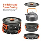 Deacroy Camping Cookware Set,Lightweight