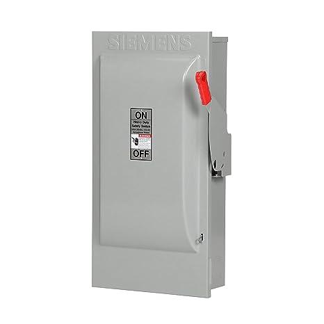 240 Volt Wiring >> Siemens Hf224n 200 Amp 2 Pole 240 Volt 3 Wire Fused