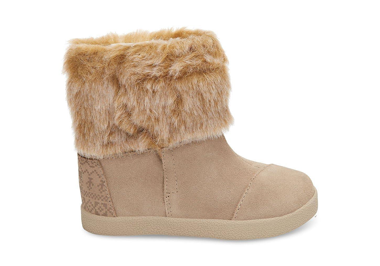 b94d4445429 Amazon.com  TOMS Kids Baby Girl s Nepal Boot (Infant Toddler Little Kid)  Oxford Tan Suede Faux Fur 2 M US Infant  Shoes