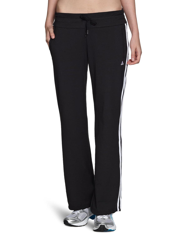 adidas - Pantalones para Mujer, tamaño S, Color Negro/Blanco ...