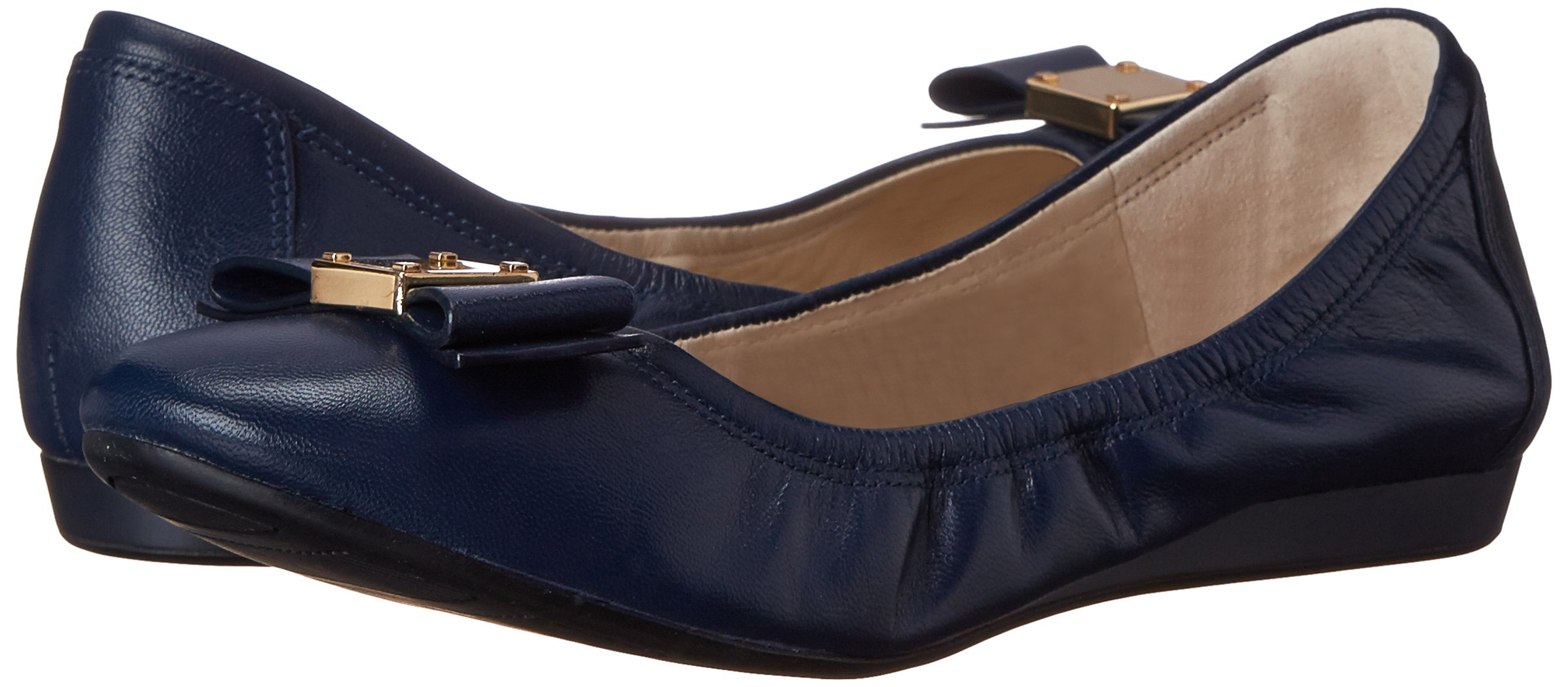 Cole Haan Women's Tali Bow Ballet Flat, Blazer Blue, 8 B US by Cole Haan (Image #6)