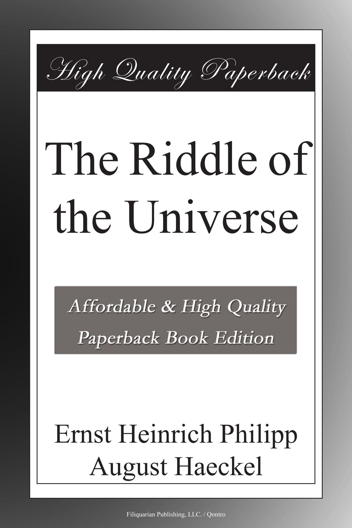 Download The Riddle of the Universe pdf epub