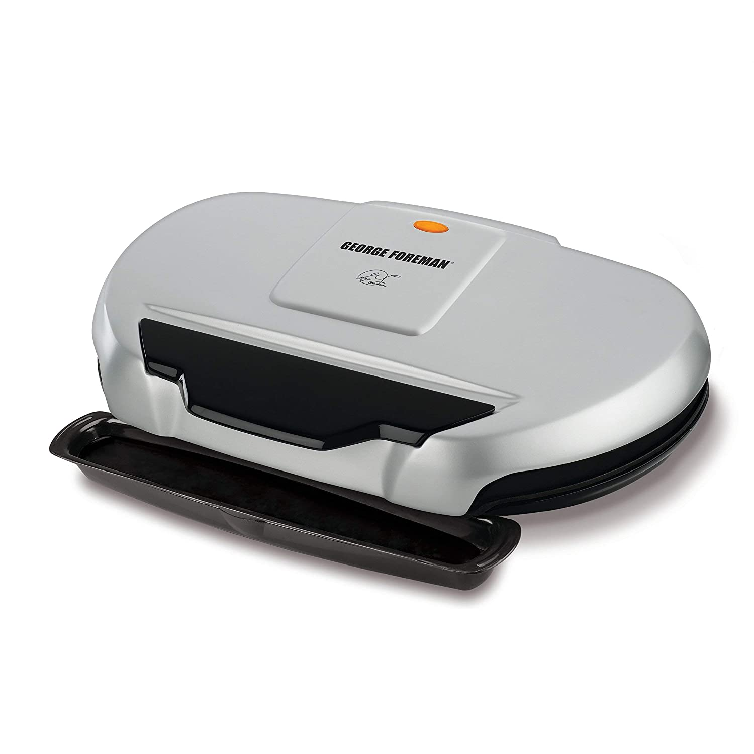 GR144 George Foreman 9-Serving Classic Plate Electric Grill and ...
