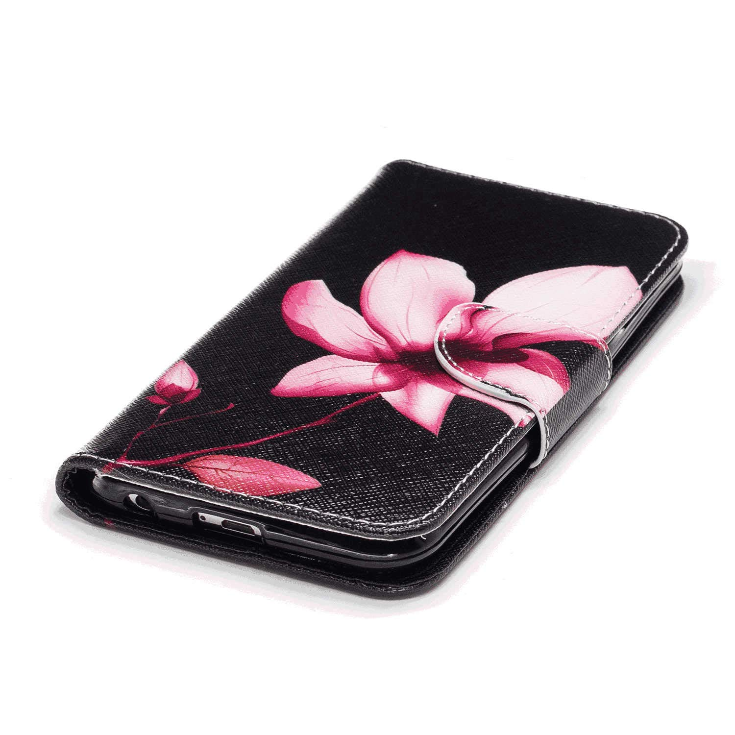 Durable Soft Wallet Cover for iPhone Xs Max PU Leather Flip Case for iPhone Xs Max