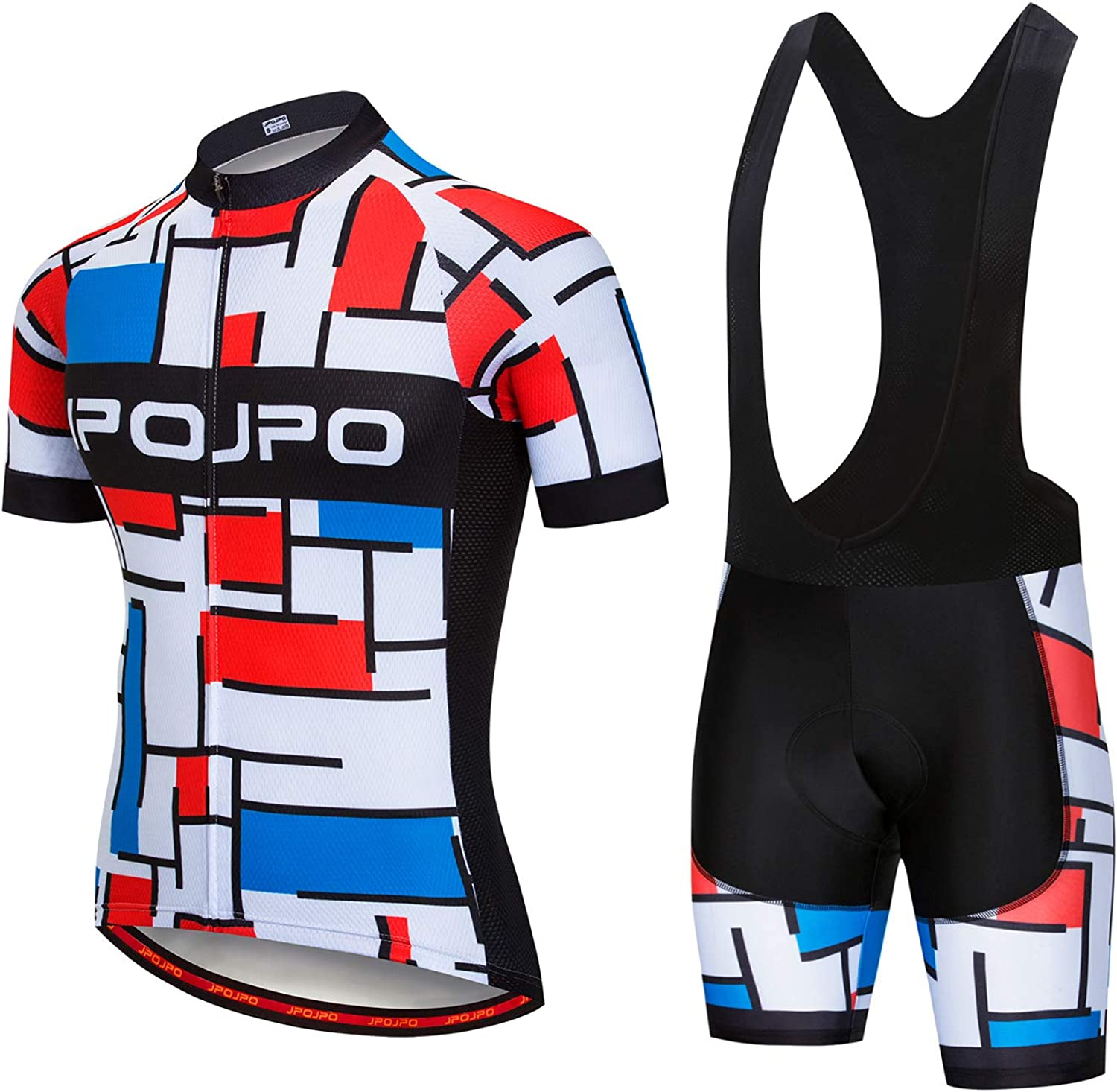 Mens Cycling Jersey,Bike Short Sleeve,Breathable Bicycle Clothing Comfortable Quick Dry